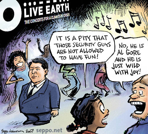 Live Earth - Party like Al Gore!