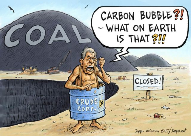 Carbon bubble trouble and coal divestment