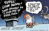 Coal, George W. Bush and Santa Claus