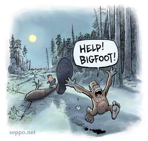 Ecological Footprint and the Bigfoot