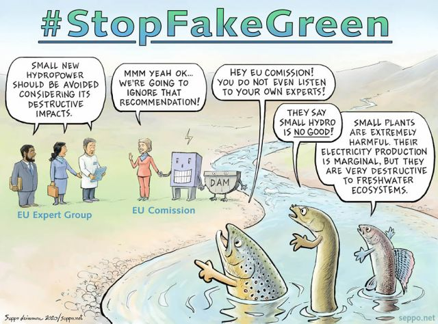 Stop Fake Green Recovery