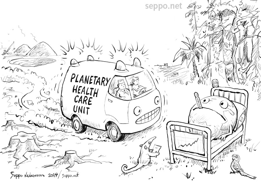 Planetary health care unit