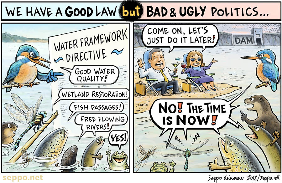 Save the EU water law