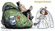 Ecological Rucksack of the golden ring