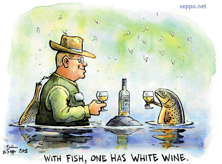 White wine with fish ngto message board for White wine with fish