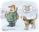 Hunter and hound