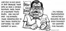 Peter von Bagh caricature