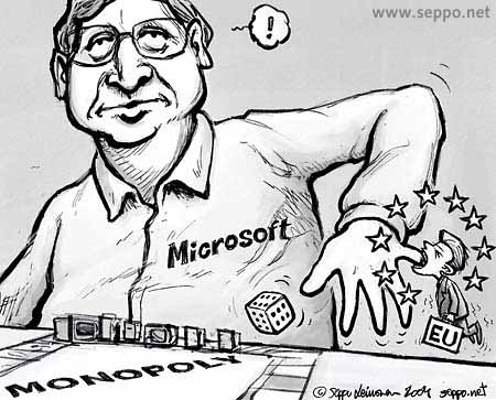 microsoft a monopoly I repeat: what makes microsoft a monopoly is not their market share it is actually much, much simpler in a nutshell: it's that their entire product line rests upon.
