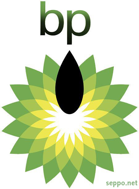 A realistic version of BP logo