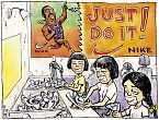 Nike - Just Do It Cartoon