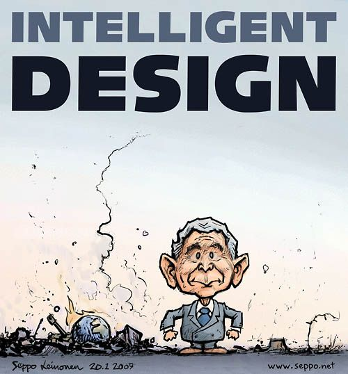 Intelligent Design - President Bush