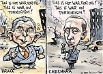 Bush & Putin & war on terrorism