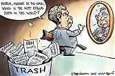 George W. Bush seeking for the rogue states...