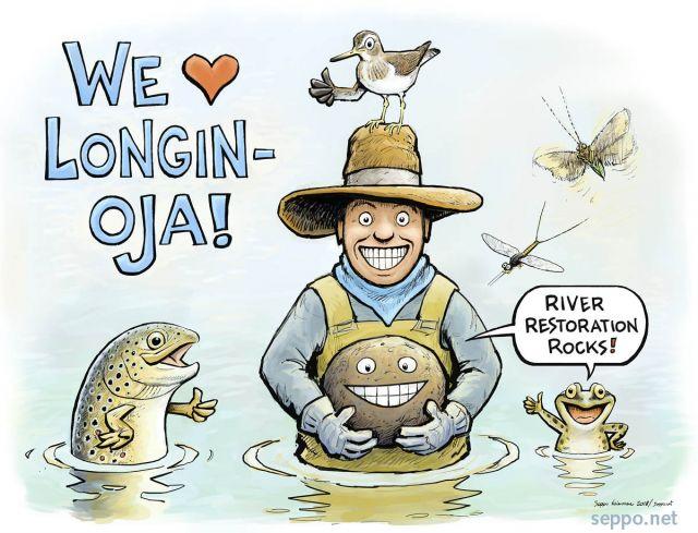 We love river restoration