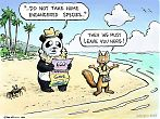 Panda and Marten – travelling and the endangered species