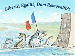 Liberté - Egalité - Dam Removalité!