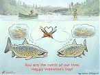 Valentine trout
