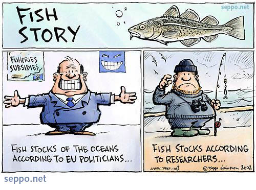 Over fishing and fisheries subsidies