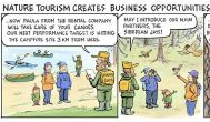 Nature tourism creates business opportunities