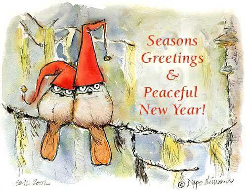 Seasons greetings cards environmental cartoons seasons creetings net card m4hsunfo