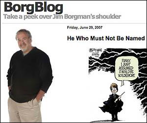 Borgblog by Jim Borgman