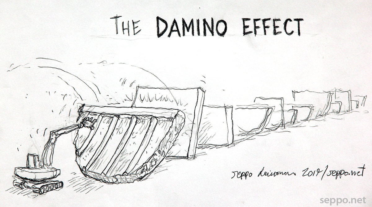 Dam Removal – The Damino effect