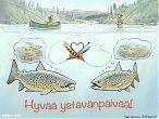 Ystävänpäivä - taimen perhokalastus