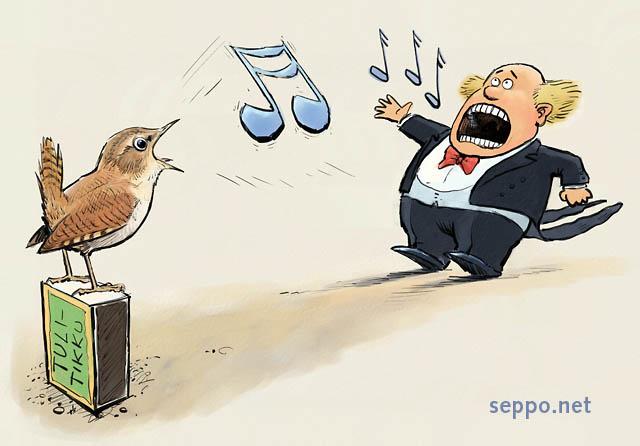Peukaloinen ääni
