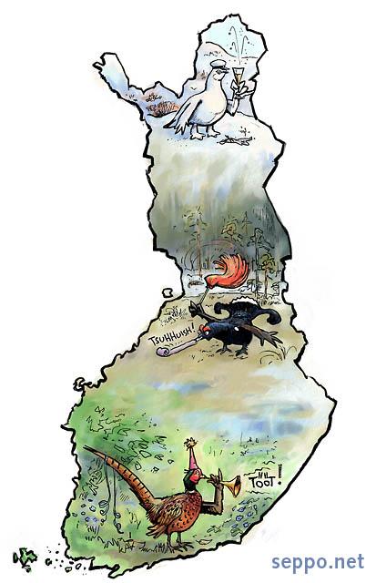 Suomen luonto - vappu