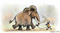 Tyttö ja mammutti