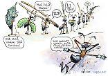 Muurahaiset ahertavat
