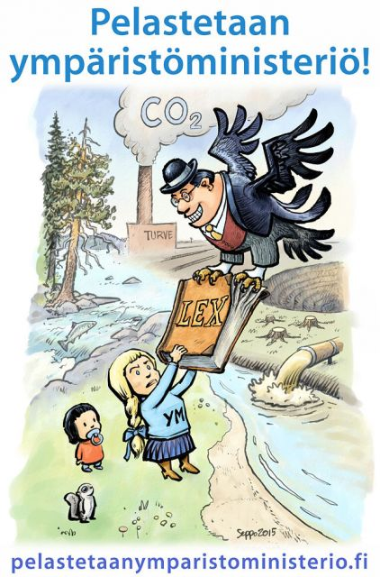 Taistelu ympäristölakien ja -hallinnon puolesta