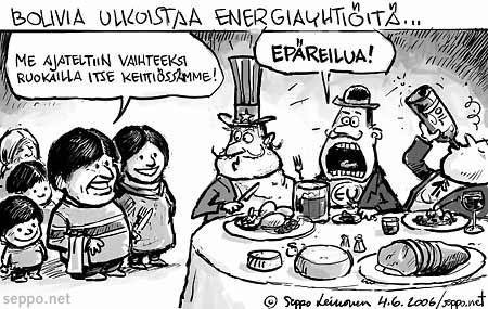 Evo Morales ja kansainväliset energiayhtiöt