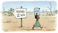 Juomavesi – Pitkä vedenhakumatka Afrikassa