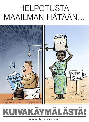 Kuivakäymälä - helpotusta maailman hätään
