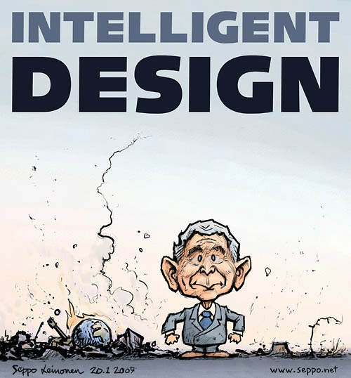 Intelligent Design - Älykäs suunnittelu ja presidentti Bush