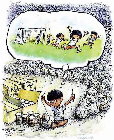 Jalkapallo ja lapsityö