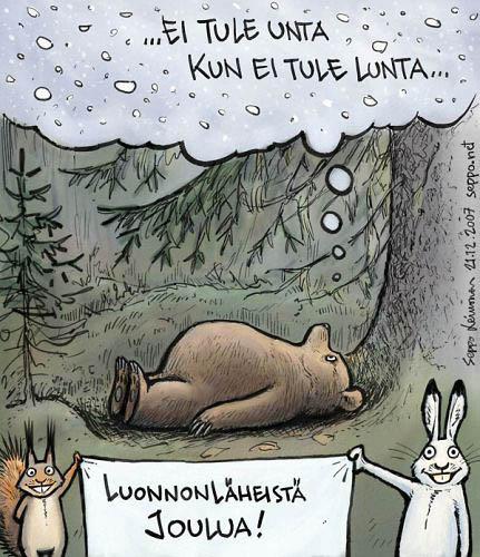 Karhu ei saa unta