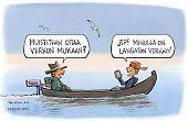 Kalastajat ja langaton verkko