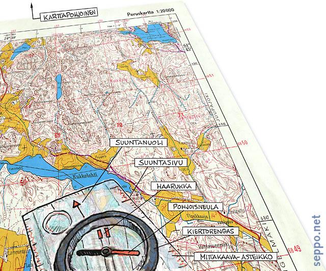Luontoilu Kartta Ja Kompassi Sepponet Luontokuvia Ja