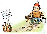 Jokamiehenoikeudet - orava