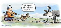 Koirat tulee pitää kiinni kansallispuistossa