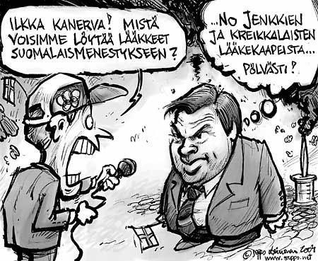 Ilkka Kanerva - lääkkeitä suomalaisten urheilumenestykseen