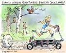 Ideoita autoilun vähentämiseksi - liikkuva juoksumatto