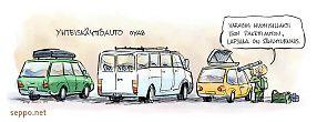 Autojen yhteiskäyttö