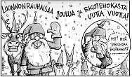 Hyvää Joulua ja Ekotehokasta Uutta Vuotta