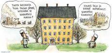 Vanhan talon purkaminen tai korjaaminen