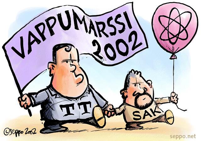 Vappumarssi 2002 - ydinvoiman puolesta
