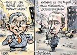 George W. Bush, Vladimir Putin ja sota terrorismia vastaan