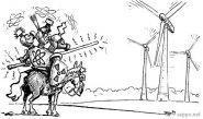Tuulimyllyt vastaan ydinvoima